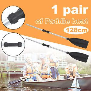 2pcs Aluminum Afloat Kayak Oars Boat Rafting Canoe Paddle Detachable Paddle