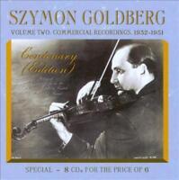 SZYMON GOLDBERG CENTENARY EDITION, VOL. 2: COMMERCIAL RECORDINGS NEW CD
