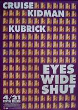 EYES WIDE SHUT Japanese B1 movie poster STANLEY KUBRICK NICOLE KIDMAN 1999 NM