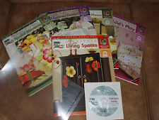 Plaid One Stroke Lifestyle 5 book collection, DVD, 2 practice sheets New