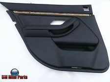 BMW E39 Rear Left Leather Door Card Black 51427904211