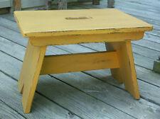 Primitive Large stool bench Pattern/Plan WN118