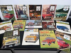Lot Vintage Original 1960s CHEVROLET Automobile Dealer SALES BROCHURES Catalogs