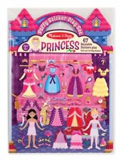 Melissa and Doug Reusable Puffy Sticker Play Set Princess