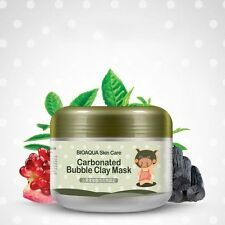 Oxygen Bubbles Moisturizing Mud Natural Face Mask Skin Spa Whitening Face Care