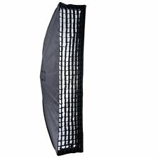 "Godox Strip Beehive Softbox 35x160cm 14""x63"" w/ Honeycomb Grid Bowens Mount AU"