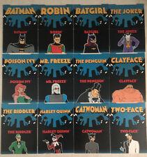 (12) BATMAN ROBIN Adventures POP-UP CARD SET P1-P12 1995 Harley Quinn Batgirl