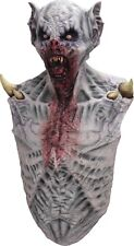 Halloween Costume SUPER VAMPIRE Latex Deluxe Mask With Chest Haunted House NEW