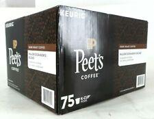 New listing Peet's Coffee Major Dickason's Blend Dark Roast 75 Count Keurig K-Cup Coffee Pod