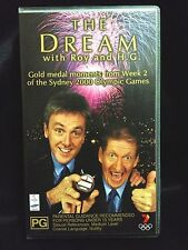The Dream With Roy and H G Week 2 Sydney 2000 Olympics VHS Video Tape