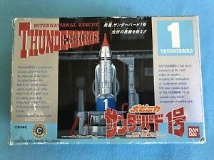 Thunderbirds Vtg 1992 TB1 Die-Cast Thunderbird 1 MIP w/UNUSED Decals Bandai (TG)