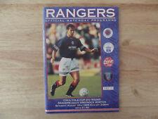 Rangers v Morton League Cup 2 19/08/95