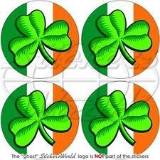 IRLANDE Irlandaise Pare-choc Casque 50mm Autocollants x4