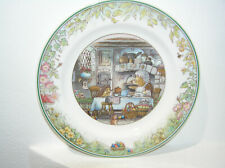 VILLEROY AND BOCH PLATE KITCHEN SCENE 1994 17cm 1ST QUALITY BEAUTIFUL CONDITION