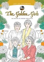 Art of Coloring: Golden Girls: 100 Images to Inspire Creativity [New Book] Adu