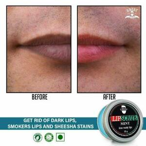Lip Lightener Gel scrub Removes Dark Lips & Nicotine Stains POTENT GEL SCRUB A++
