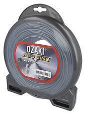 2.5mm X 81metre Professional Quality Ozaki Alu Nylon Strimmer Line