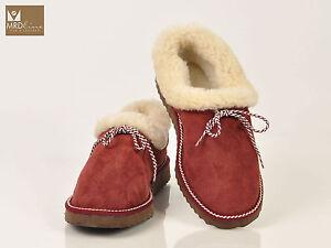 Women's light green bordeaux suede sheepskin wool fur shoes slippers