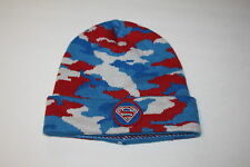 NWT~ BABY GAP + JUNK FOOD sz S/M CAMO SUPERMAN BEANIE HAT