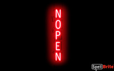 SpellBrite Ultra-Bright NOPEN (Open Closed) Sign Neon LED