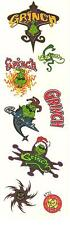 Okee Dokee Dr. Seuss How The Grinch Stole Christmas Stickers 1 Strip RETIRED