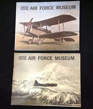 US Air Force Museum 1960s 2 Books