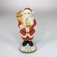 """Vintage USA Santa Ceramic Figurine 5"""" tall"""