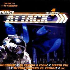 Trance Attack 1 (1999) DJ Taylor/Flow, ?!, Nostrum, Maincrashers, Mario.. [2 CD]