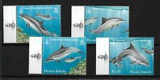 PITCAIRN ISLANDS 2012 DOLPHINS, MNH, SG849/52