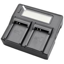 Dual LCD Battery Charger for Olympus BLN-1 OMD M-5 E-M5 EM5 II EM1 E-M1 PEN E-P5