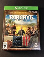 Far Cry 5 GOLD Edition [ Game + Season Pass + STEELBOOK ] (XBOX ONE) NEW