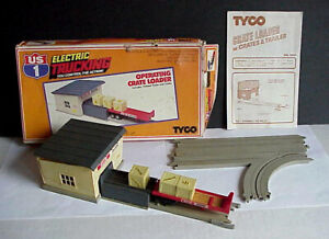 TYCO Slot Car US1 Electric Trucking CRATE LOADER #3450