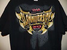 TNA WRESTLING 2013 Slammiversary Boston Mens Extra Large Wrestler T-Shirt