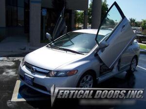 Vertical Doors Inc. Bolt-On Lambo Kit for Honda Civic 06-11 4 DR