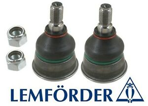 For Volvo 142 145 Pair Set of 2 Front Lower Suspension Ball Joints Lemfoerder