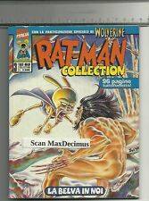 RATMAN RAT-MAN COLLECTION 3 LA BELVA IN NOI PRIMA EDIZIONE FUMETTERIA CON RAGNO