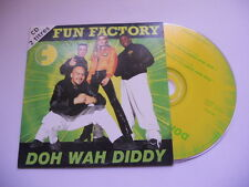 Fun Factory / Doh wah diddy - cd single
