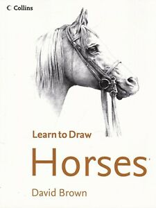 Collins Learn to Draw Horses (Paperback) Book