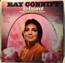Ray Conniff Singers En Espanol in Spanish LP NM Vinyl Latin Pop Vocals 2Eye Mono
