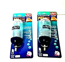 New listing Lixit Aquarium Cage Water Bottles Mouse Hamster 5 oz. With wire hanger Lot of 2