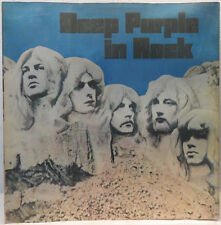 Deep Purple - In Rock LP MEGA RARE ISRAEL PRESSING Gatefold - Fully Laminated