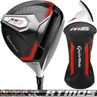 Taylormade M6 Driver with Fujikura Atmos Orange - Pick Your Loft & Flex