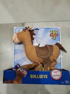Toy Story 4 Bullseye Plush Toy Woodys Horse 12 inch Disney Soft Huggable Ages 4+