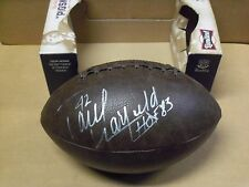 Paul Warfield, Cleveland Browns, Signed Wembly Football w/Inscrip & Photo