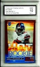 2014 Panini Hot Rookies Red Odell Beckham Jr.D # 128/149 Gem Mint 10 N.Y. Giants