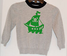 Boy Sailor Skull Ship Pull Over Sweater Circo Trendy Size 3T