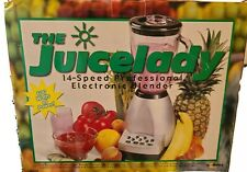 Juicelady Juice Lady Salton Electric Blender 600 watt 14 Speed OPEN BOX, Rare