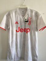 Adidas Juventus Ronaldo 7 Away 2019-20 White Red Jersey Size M Men's Only
