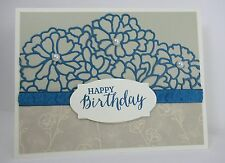 Stampin Up! HAPPY BIRTHDAY So Detailed Card Kit - Set of 3 Cards