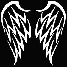 Angel Wings Car Window Graphic Vinyl Decal-5 Inch (white,black or red)
